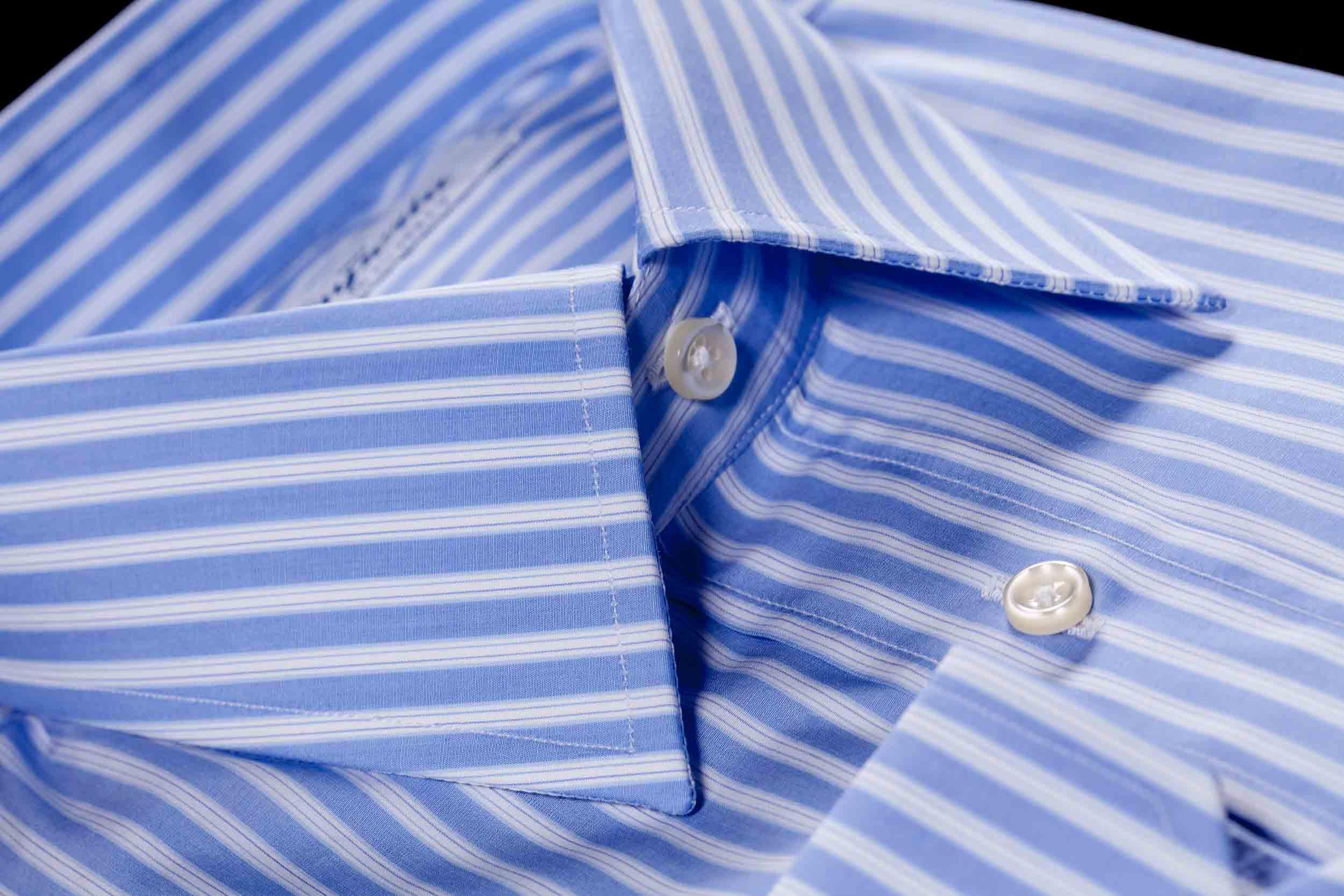 camicia da uomo con collo italiano Camiceria Smeralda Camerano Ancona