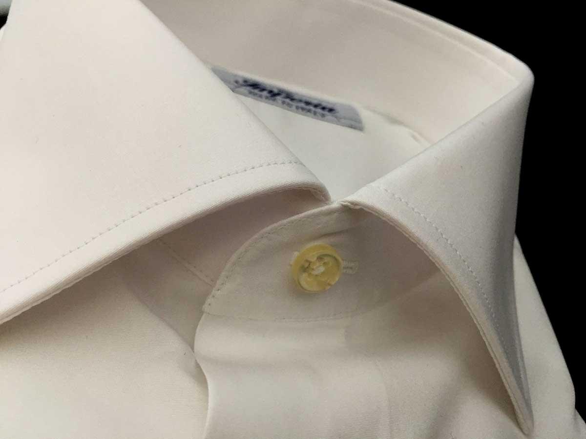 camicia bianca da uomo puro cotone Camiceria Smeralda Camerano Ancona