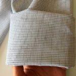 Risvolto manica camicia Camiceria Smeralda Ancona