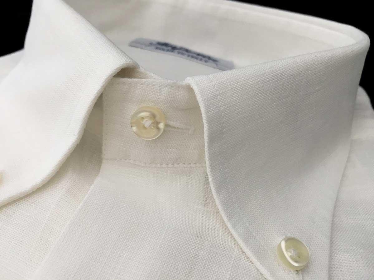 camicia uomo lino bianca Camiceria Smeralda Ancona Camerano news