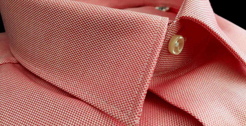 camicia da uomo puro cotone rosa Camiceria Smeralda Camerano Ancona