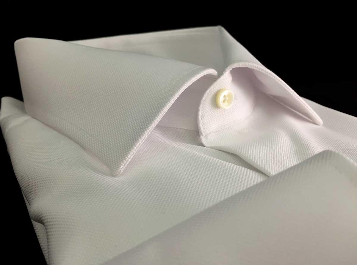 Camicia bianca uomo no stiro Ancona Camerano Camiceria Smeralda