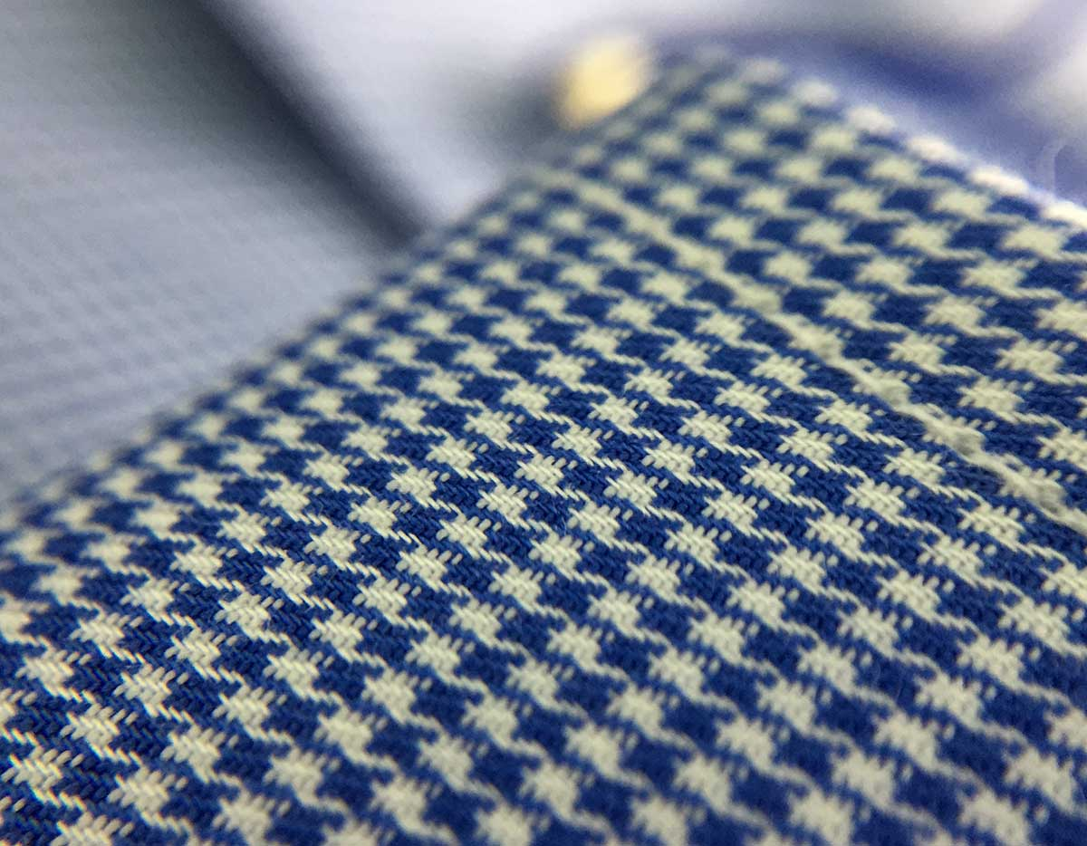 texture camicia fantasia no stiro Ancona Camerano
