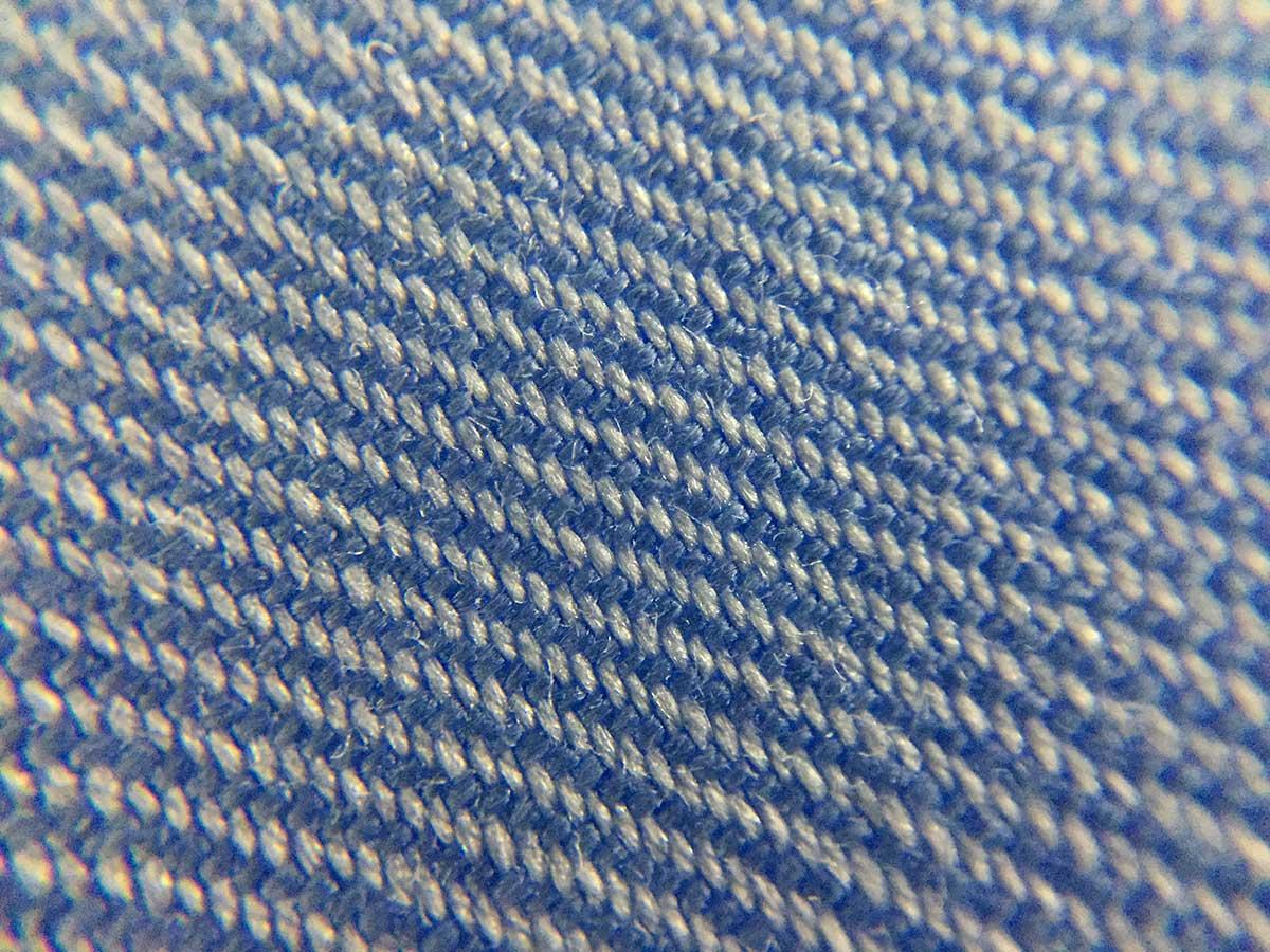 Texture camicia no stiro azzurra ancona camerano