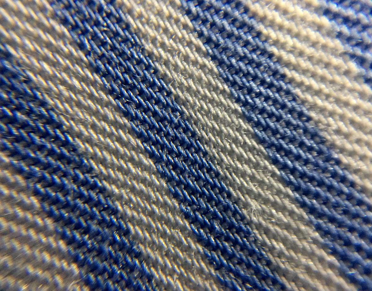 Texture camicia righe no stiro Ancona Camerano