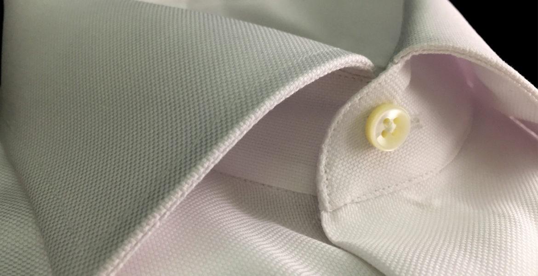 camicia stiro facile bianca in puro cotone da uomo Camiceria Smeralda