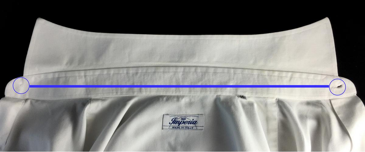 misurare collo camicia Ancona Camerano Camiceria Smeralda