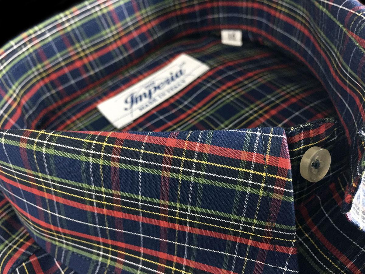 camicia da uomo quadretti colorata Ancona Camerano