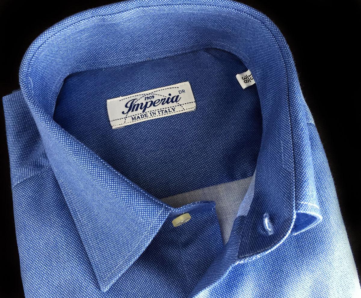 Camicia da uomo jersey caldo cotone Autunno inverno 2020 2021 Ancona Camerano