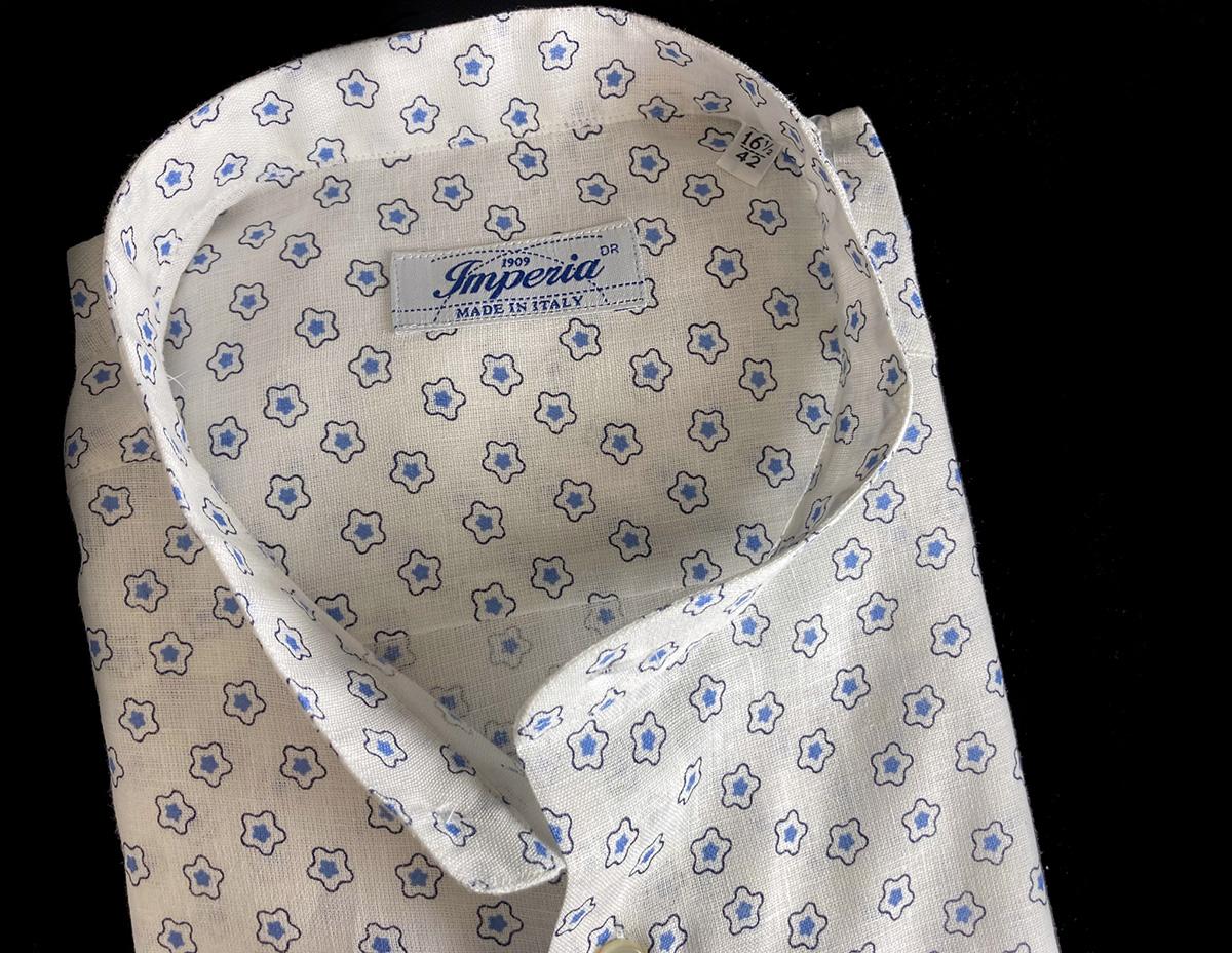 camicia da uomo lino a fiori ad Ancona